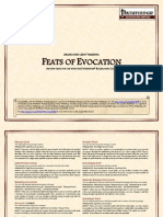 Feats of Evocation