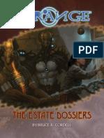 The Strange - The Estate Dossiers (2015)