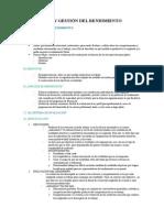 Evaluación y Gestión Del Rendimiento Tema 5 Rrhh
