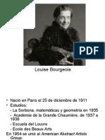 Louise Bourgeois. Obra