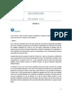 ASCENSION - Décembre 2015 - FRÈRE K