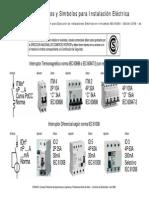 Guía de Productos y Símbolos Para Instalaciones Eléctricas