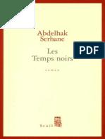 Les Temps Noirs - Serhane Abdelhak.epub