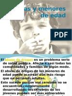 Drogas y Menores de Edad