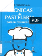 Técnicas de Pastelería
