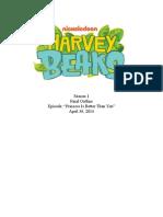 Harvey Beaks Outline - Nickelodeon