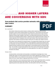 Ovum Whitepaper on Converging Optical and Higher Layers With SDN