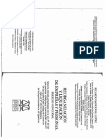 Reorganización y Liquidación de Empresas y Personas. Derecho Concursal - Ricardo Sandoval