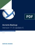 AcronisBackupPC 11.5 Userguide Es-ES