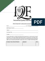 DMAIC BB CertificationProcess
