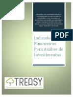 Treasy - Indicadores Financeiros Para Analise de Investimentos