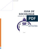 Guia de Sociologia