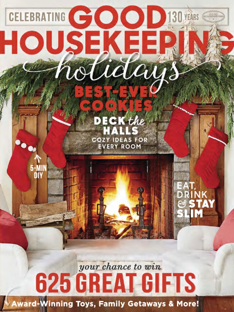 Good housekeeping 12 days of christmas sweepstakes