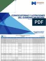 Convocatorias y Licitaciones del del Municipio de Matamoros