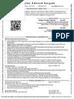 taylorsergent resume