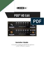 POD HD Edit Installer Guide - English ( Rev a )