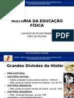 Disciplina Historia Da Educacao Fisica