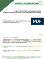 Elementos inorgánicos en los sistemas biologicos