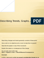 Describing Trends, Graphs, And Changes