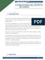 Dinamica Poblacional Comas 2013