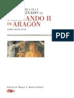 VICENS-Vida y Reinado de Fernando II de Aragon