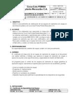 9. Procedimientos de Certificación de Los Equipos de Izamiento de Izamiento de Carga