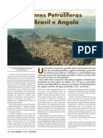 Regimes Petroliferos de Brasil e Angola