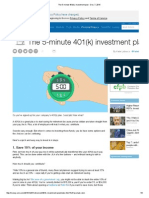 The 5-Minute 401(k) Investment Plan - Dec