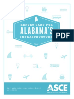 ASCE Report Card for Alabama's Infrastructure 2015
