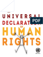 Universal Declaration of Human Rights - Illustrated Version
