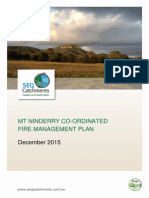 Mt Ninderry Co-Ordinated Fire Management Plan 091215 Final