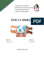 Trabajo de Etica y Moral.