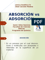 Absorcion vs Adsorcion