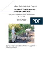 Grand Marais Small Scale Stormwater Demonstration Projects (306a-01-10)