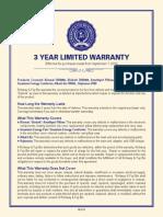 warranty revision 09 01 2015