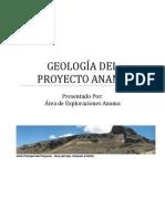 Informe Geológico Proyecto Anama