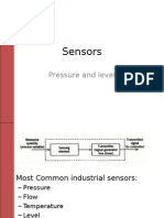 Instruments-pressure and Level Sensors
