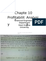 Chapter 10 - Profitability Analysis