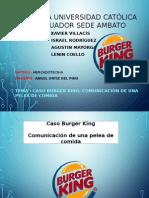 Caso Burger King