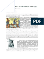 Muerte Del Inca Atahualpa