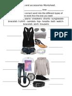 clothingworksheet