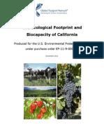 ecological footprint biocapacity california 2012 global footprint network