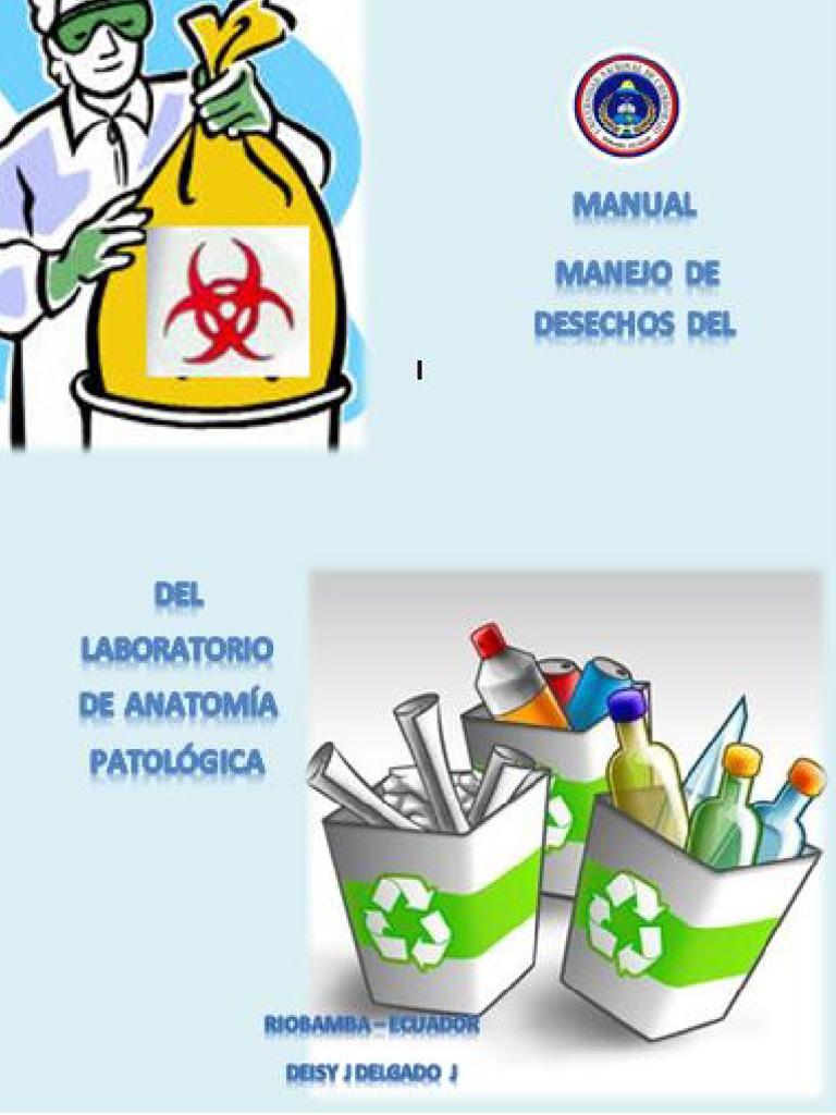 Manual de Manejo de Desechos