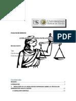 Legislacion Comparada en Relacion a Teras