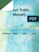 1-jesus public ministry
