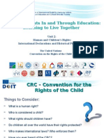 The HIstory Convention of Childrens Rights Declaration