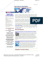 US India Investments and Transactions Flow - IMaCS Virtus Global Partners April 2010 Newsletter