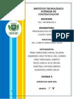 Unidad 5 Servicios Web XML