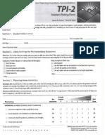 tpi student rating form protocol