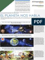 Cómic El Planeta Nos Habla